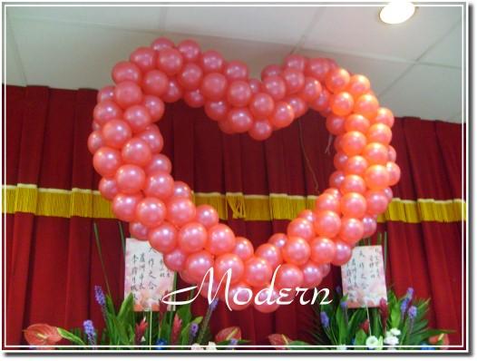 心形气球编织图解