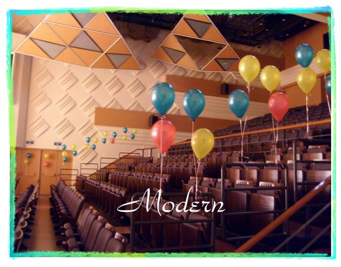 摩登花卉气球(婚礼布置)会场布置-绿森林美语幼园